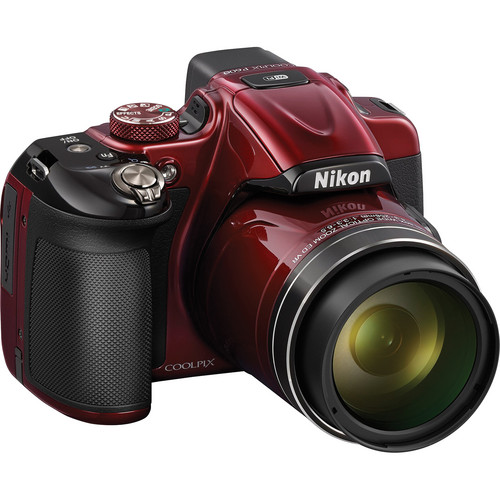 Nikon COOLPIX P600 Digital Camera (Red)