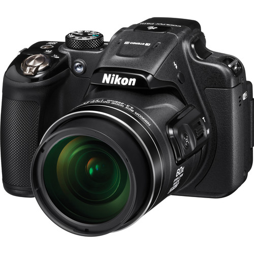 Nikon COOLPIX P610 Digital Camera (Black, Refurbished)