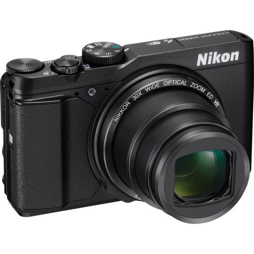Nikon COOLPIX S9900 Digital Camera (Black)