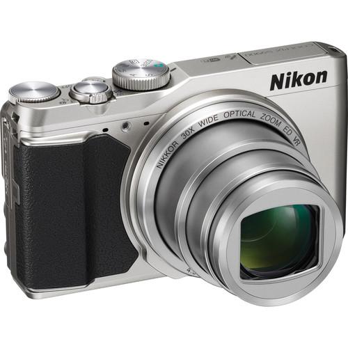 Nikon COOLPIX S9900 Digital Camera (Silver)