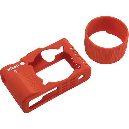 Nikon Silicone Jacket Set for Nikon 1 AW1 (Orange)