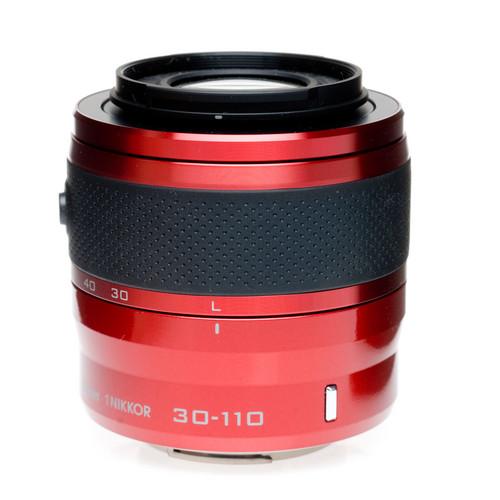 Nikon 1 Nikkor VR 30-110mm f/3.8-5.6 Lens (Red) for CX Format