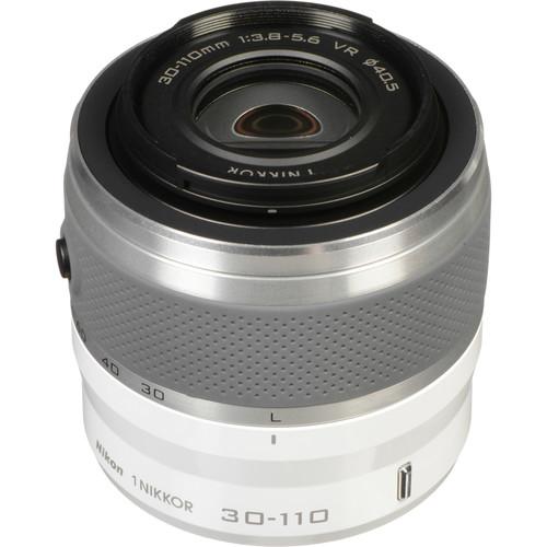 Nikon 1 NIKKOR VR 30-110mm f/3.8-5.6 Lens (White)