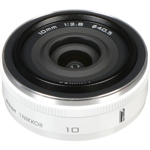 Nikon 1 NIKKOR 10mm f/2.8 Lens (White)