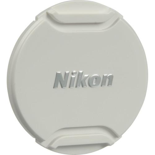Nikon LC-N55W Front Lens Cap for 1 NIKKOR 10-100mm f/4.0-5.6 VR Lens (White)