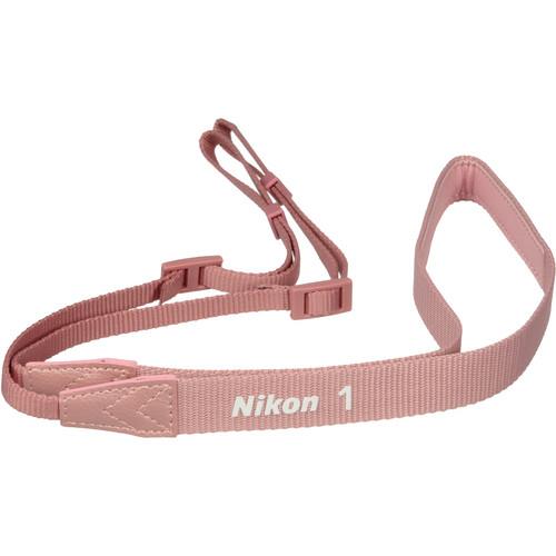 Nikon AN-N1000 Neck Strap for Nikon 1 J3 / S1 Digital Camera (Pink)