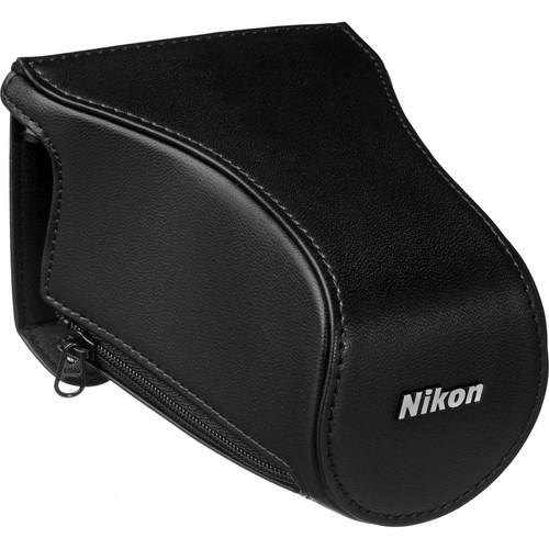 Nikon CB-N2200FA Front Case for 1 J3 Digital Camera with 10-100mm Lens (Black)