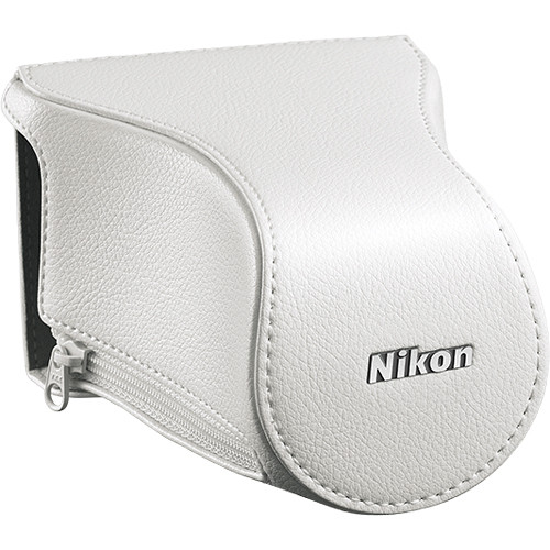 Nikon CB-N2200FA Front Case for 1 J3 Digital Camera with 10-100mm Lens (White)