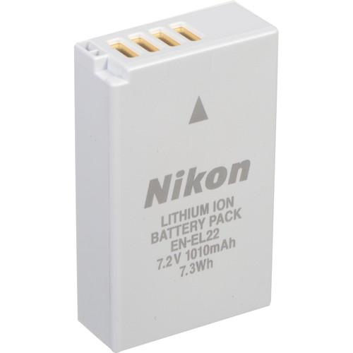 Nikon EN-EL22 Rechargeable Lithium-Ion Battery Pack (7.2V, 1010mAh)