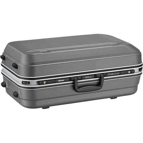 Nikon CT-608 Trunk Case for 600mm f/4E FL ED VR Lens (Gray)