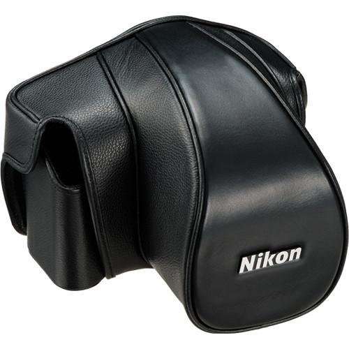 Nikon CF-DC6B Leather Case Set for Nikon Df (Black)