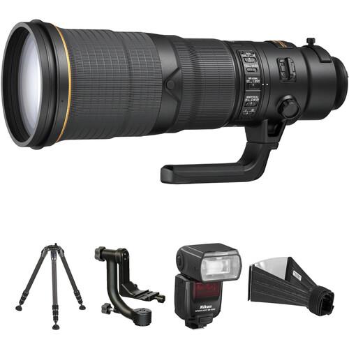 Nikon AF-S NIKKOR 500mm f/4E FL ED VR Lens Wildlife Kit