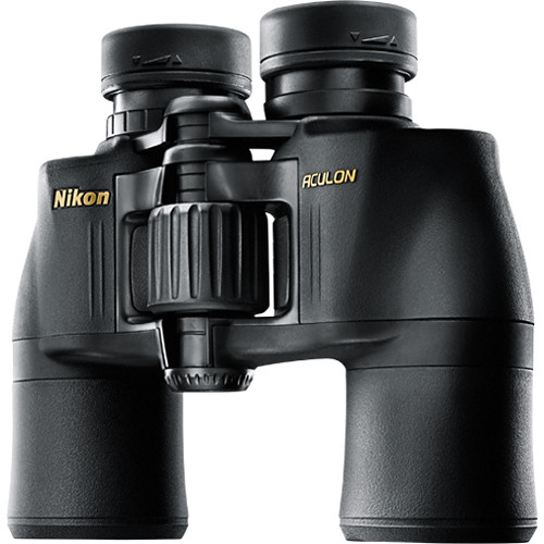 Nikon 10x42 Aculon A211 Binocular (Black, Clamshell Packaging)