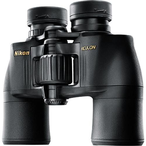 Nikon 10x42 Aculon A211 Binocular (Black,Clamshell Packaging)