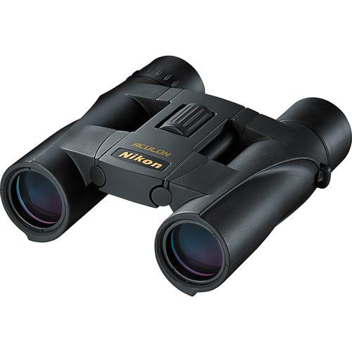 Nikon 10x25 Aculon A30 Binocular with Clamshell Packaging (Black)