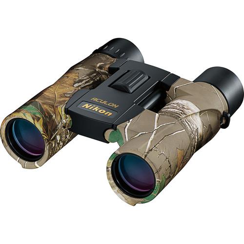Nikon 10x25 Aculon A30 Binocular (Real Tree Camo)