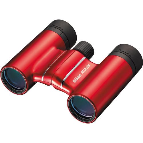 Nikon 10x21 Aculon T01 Binocular (Red)