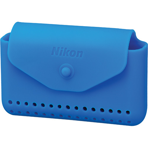 Nikon Silicone Case for COOLPIX AW100 and AW110 Cameras (Blue)