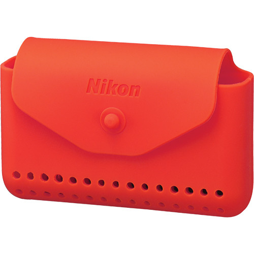 Nikon Silicone Case for COOLPIX AW100 and AW110 Digital Cameras (Orange)