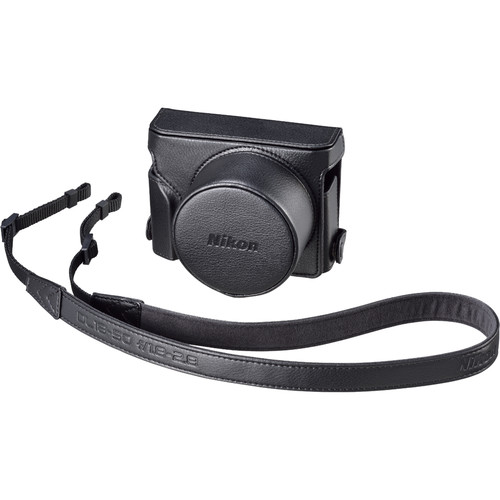 Nikon CF-DL2 Semi-Soft Case with Neck Strap (Black)