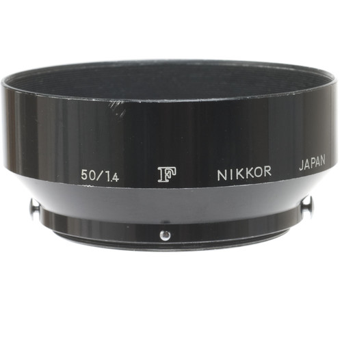 "Nikon Clip On Lens Hood for 50mm 1.4 Lens with Nikon ""F"" Logo"