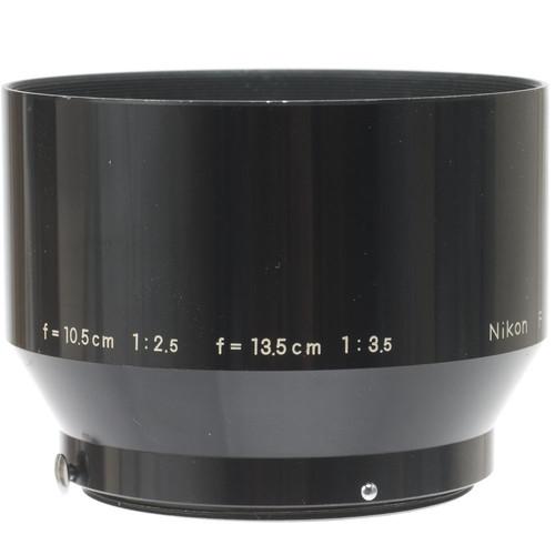 "Nikon Clip On Lens Hood ""F"" for 10.5 cm f/2.5 and 13.5cm f/3.5 Lenses"