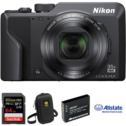 Nikon COOLPIX A1000 Digital Camera Deluxe Kit
