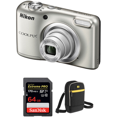 Nikon COOLPIX A10 Digital Camera Basic Kit