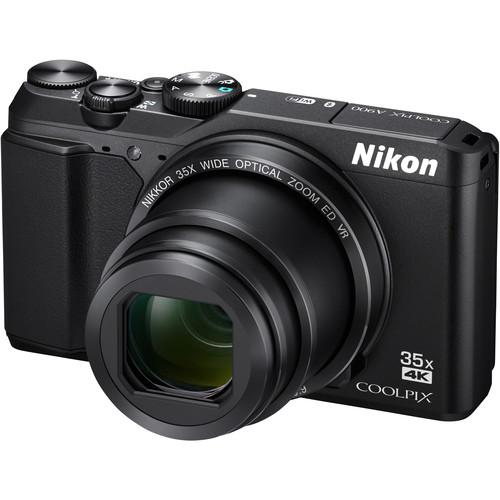 Nikon COOLPIX A900 Digital Camera Basic Kit (Black)
