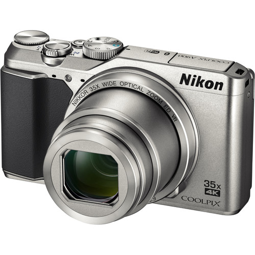 Nikon COOLPIX A900 Digital Camera Deluxe Kit (Silver)