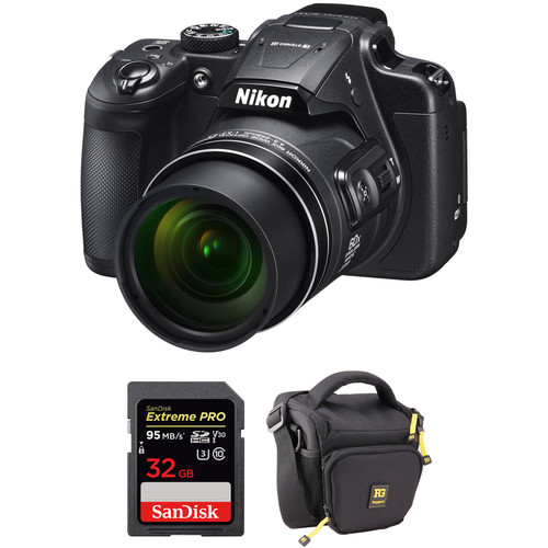 Nikon COOLPIX B700 Digital Camera with Accessory Kit (Refurbished)