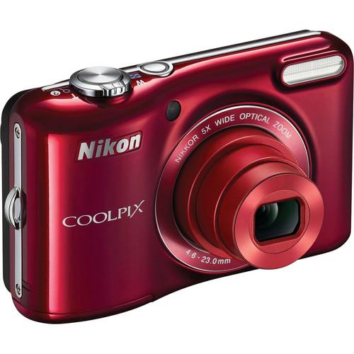 Nikon COOLPIX L28 Digital Camera (Red)