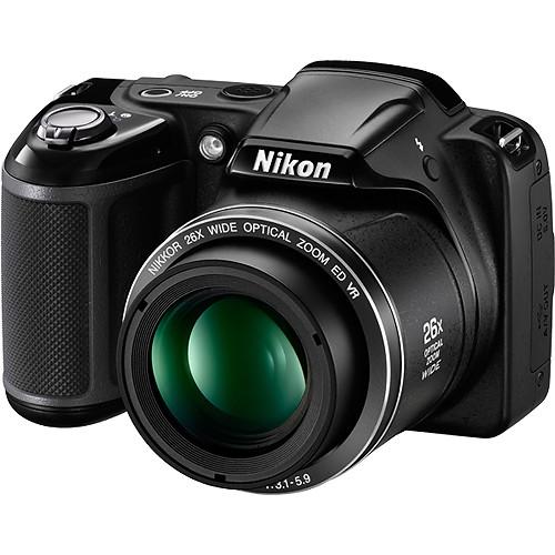 Nikon COOLPIX L330 Digital Camera Deluxe Kit (Refurbished)