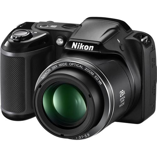 Nikon COOLPIX L340 Digital Camera Deluxe Kit