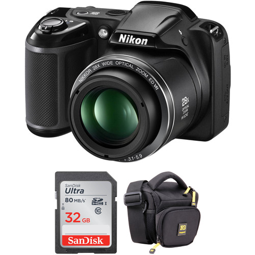 Nikon COOLPIX L340 Digital Camera Basic Kit