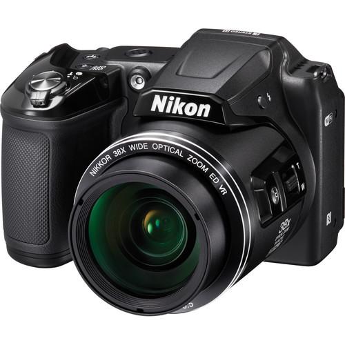 Nikon COOLPIX L840 Digital Camera Basic Kit (Black, Refurbished)