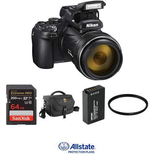 Nikon COOLPIX P1000 Digital Camera Deluxe Kit