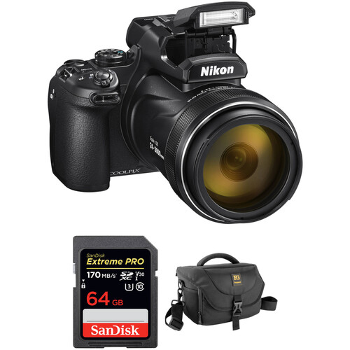 Nikon COOLPIX P1000 Digital Camera with Accessory Kit