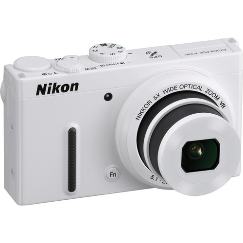 Nikon COOLPIX P330 Digital Camera (White)