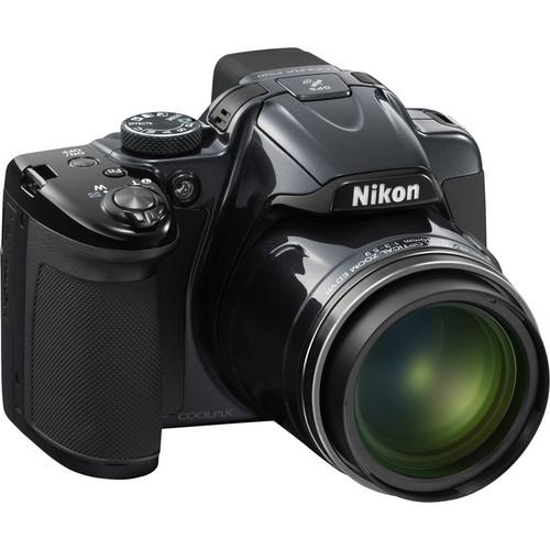 Nikon COOLPIX P520 Digital Camera (Silver)