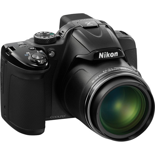 Nikon COOLPIX P520 Digital Camera (Black)