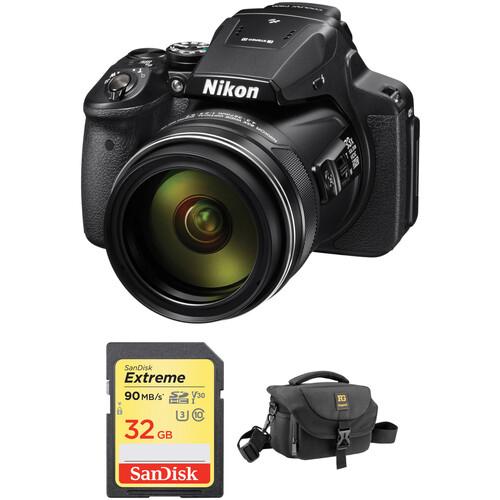 Nikon COOLPIX P900 Digital Camera with Accessories Kit