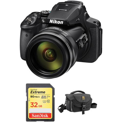 Nikon COOLPIX P900 Digital Camera with Accessories Kit