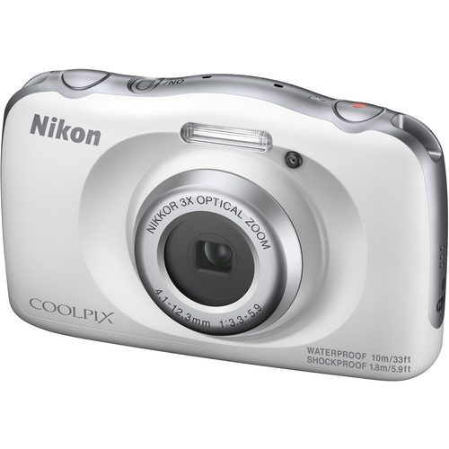 Nikon COOLPIX W150 Digital Camera (White)
