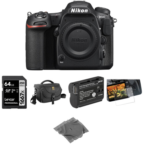 Nikon D500 DSLR Camera Body Basic Kit