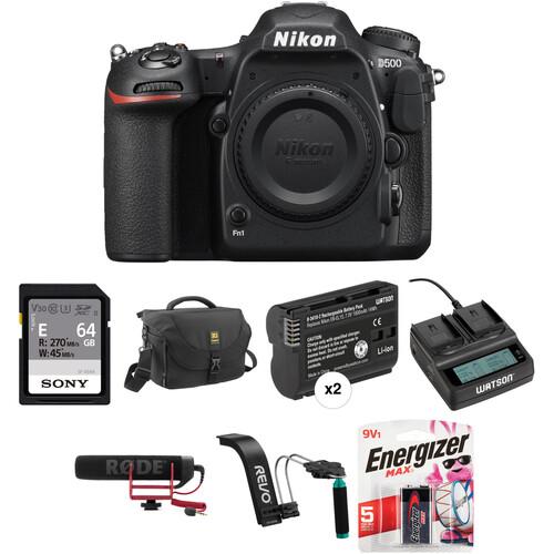 Nikon D500 DSLR Camera Body Video Kit