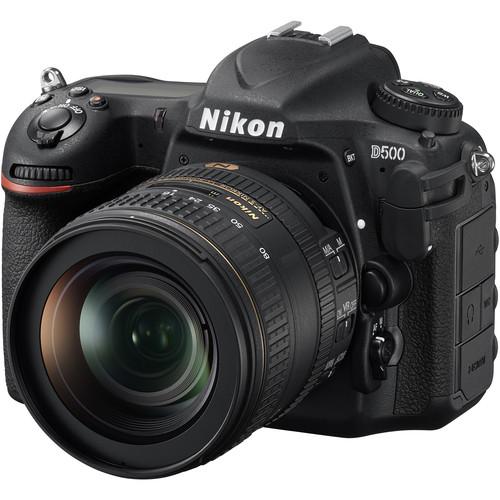 Nikon D500 DSLR Camera with 16-80mm Lens Video Kit