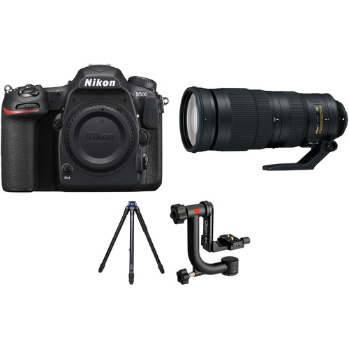 Nikon D500 with 200-500mm Lens Wildlife Kit