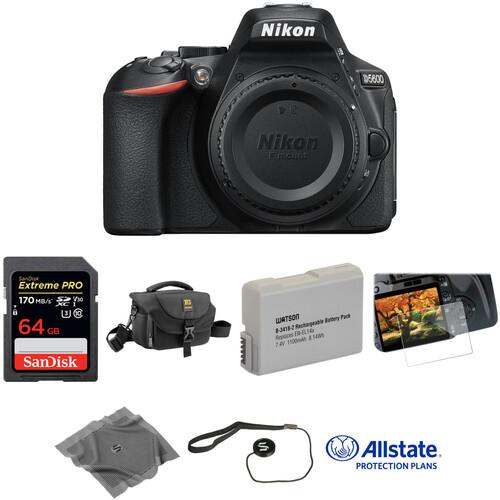 Nikon D5600 DSLR Camera Body Deluxe Kit