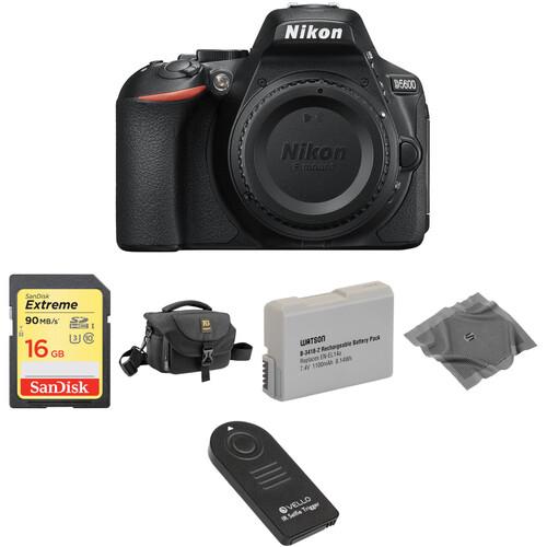 Nikon D5600 DSLR Camera Body Basic Kit